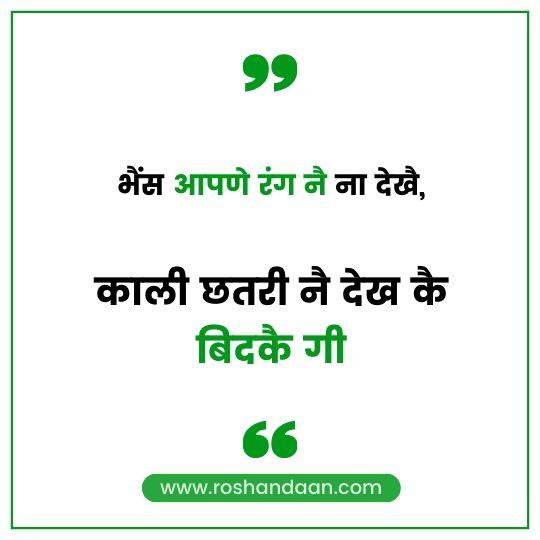 Haryanavi Quotes